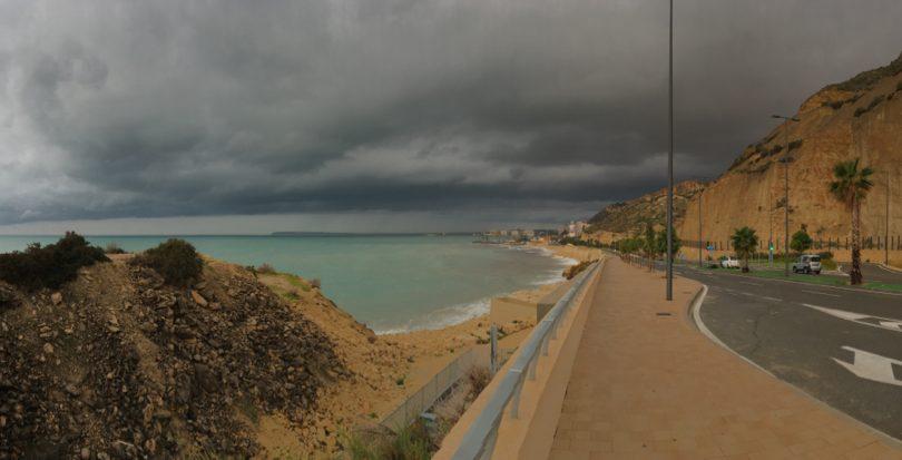 Una imagen distinta de nuestra costa