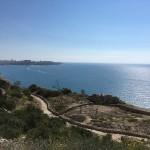 Restos de bateria anti aerea de la guerra civil en Alicante