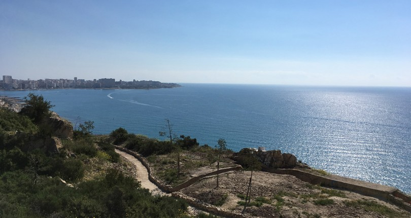 Obras de mejora en La Albufereta