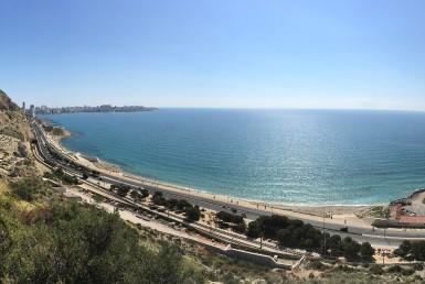 Bahía de la Albufereta - Desde la Serra Grossa