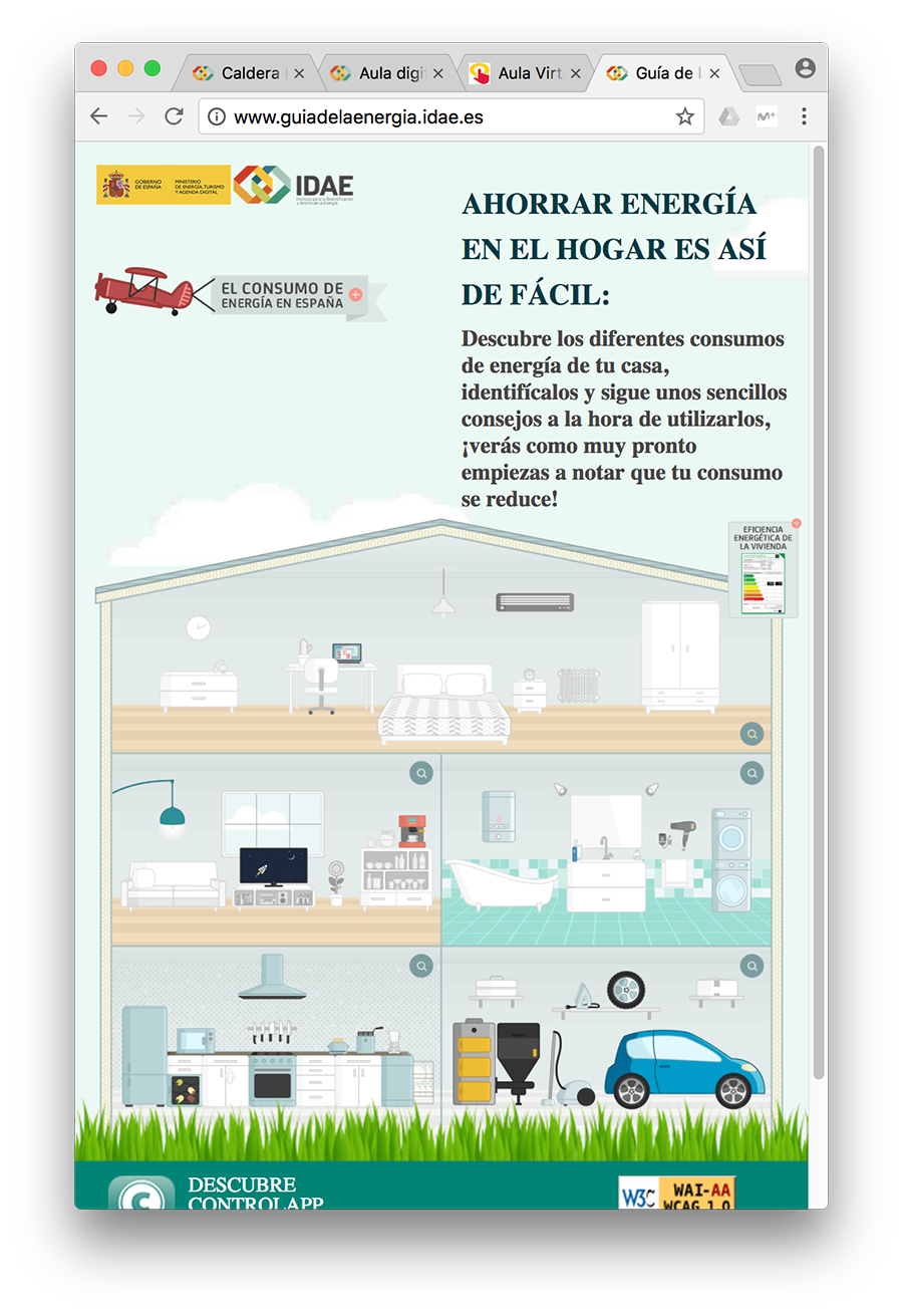 Gu A Para El Ahorro De Energ A En El Hogar Atena Administracion ~ Medidas Para Ahorrar Energia En Casa