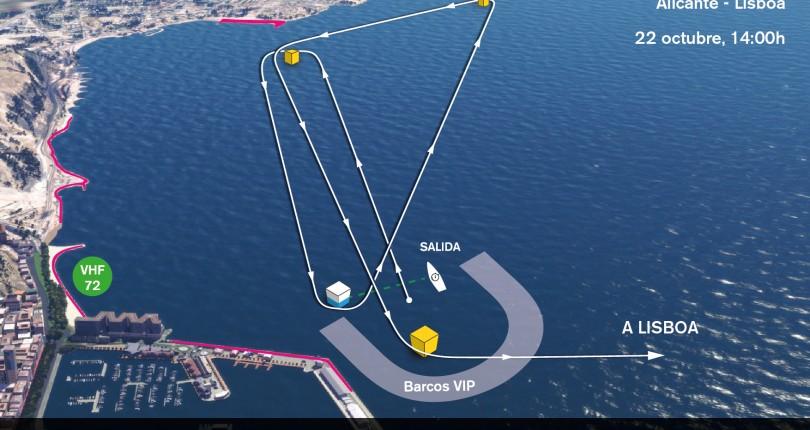 Alicante despide a los participantes de la Volvo Ocean Race