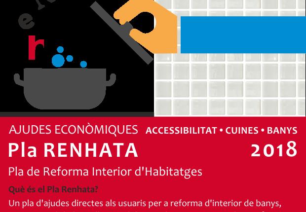 La Generalitat publica las bases reguladoras de las ayudas del Plan Renhata para reformas de interior de viviendas