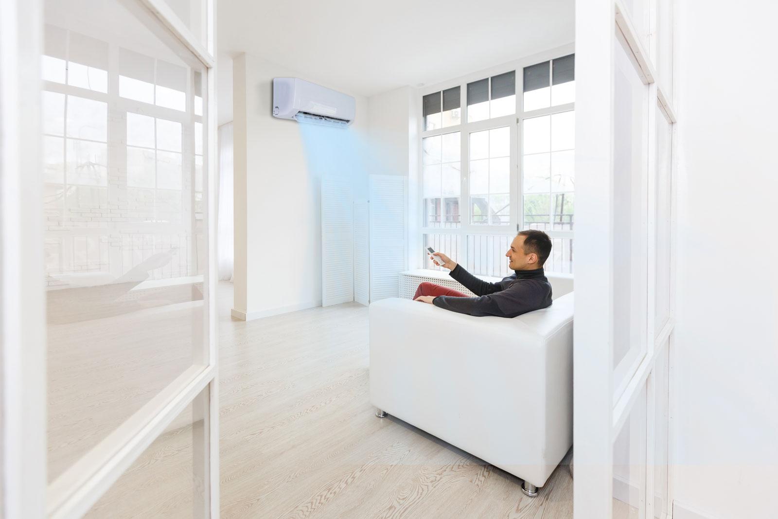 Aire acondicionado en vivienda