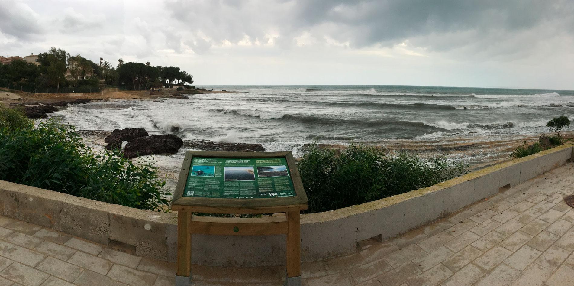 Temporal costero en la Comunitat Valenciana