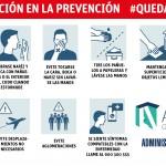 colabora en la prevención contra el coronavirus