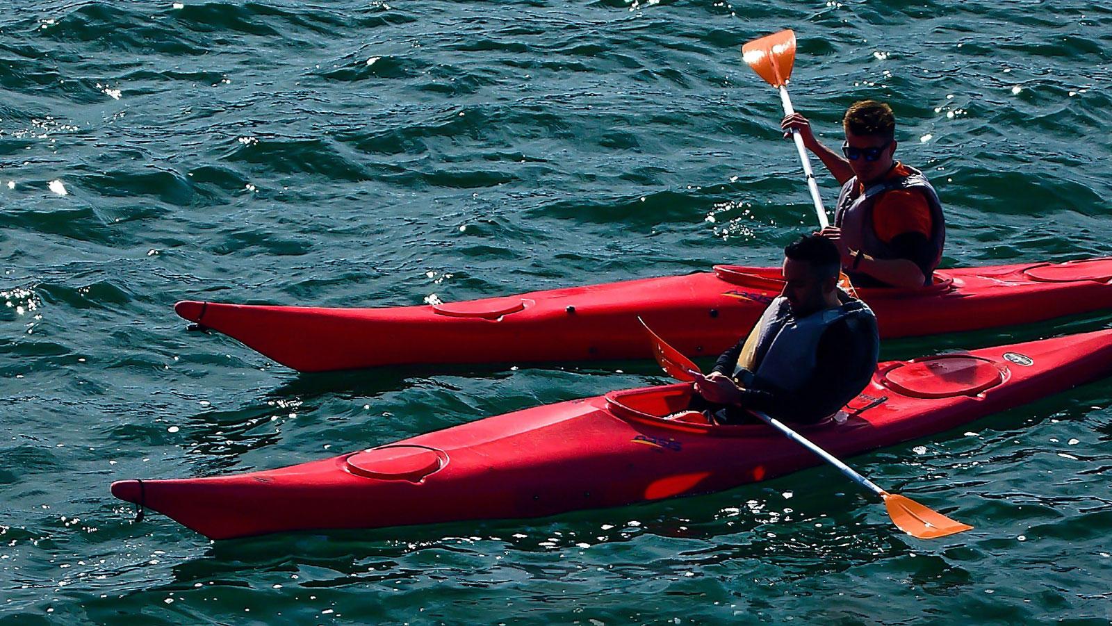 Kayak permitido en Alicante