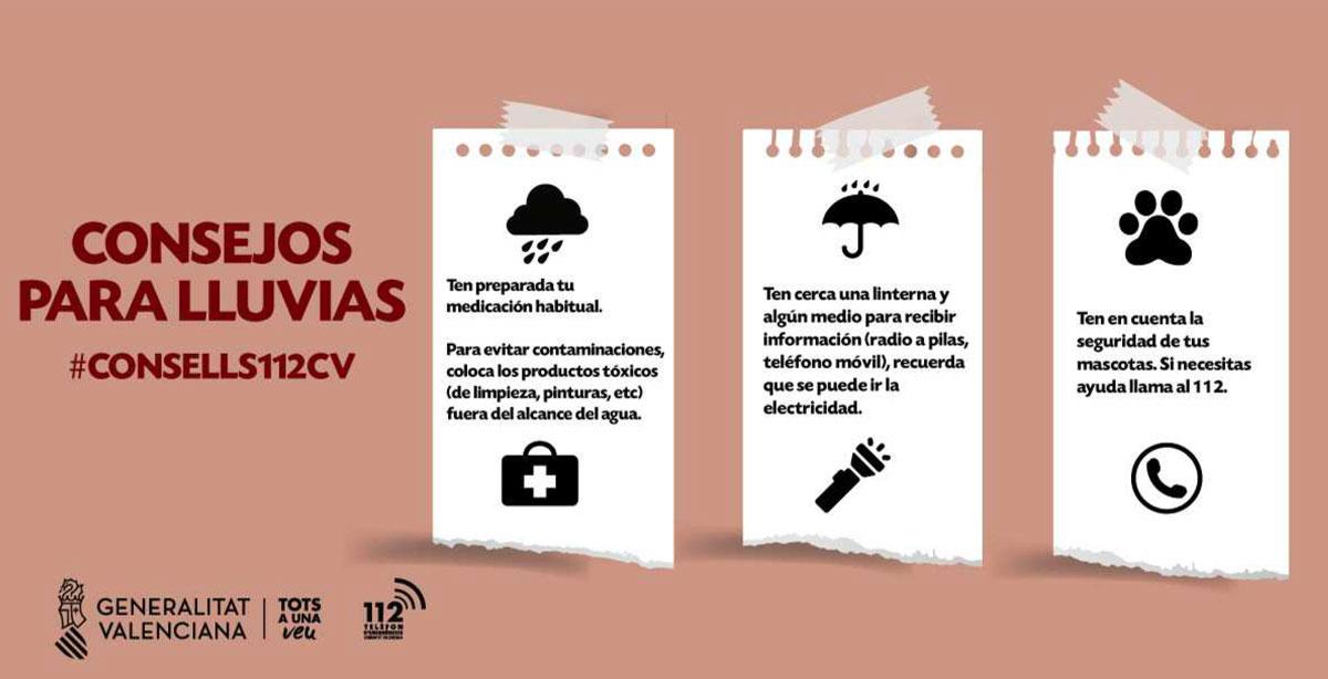 Consejos para las lluvias