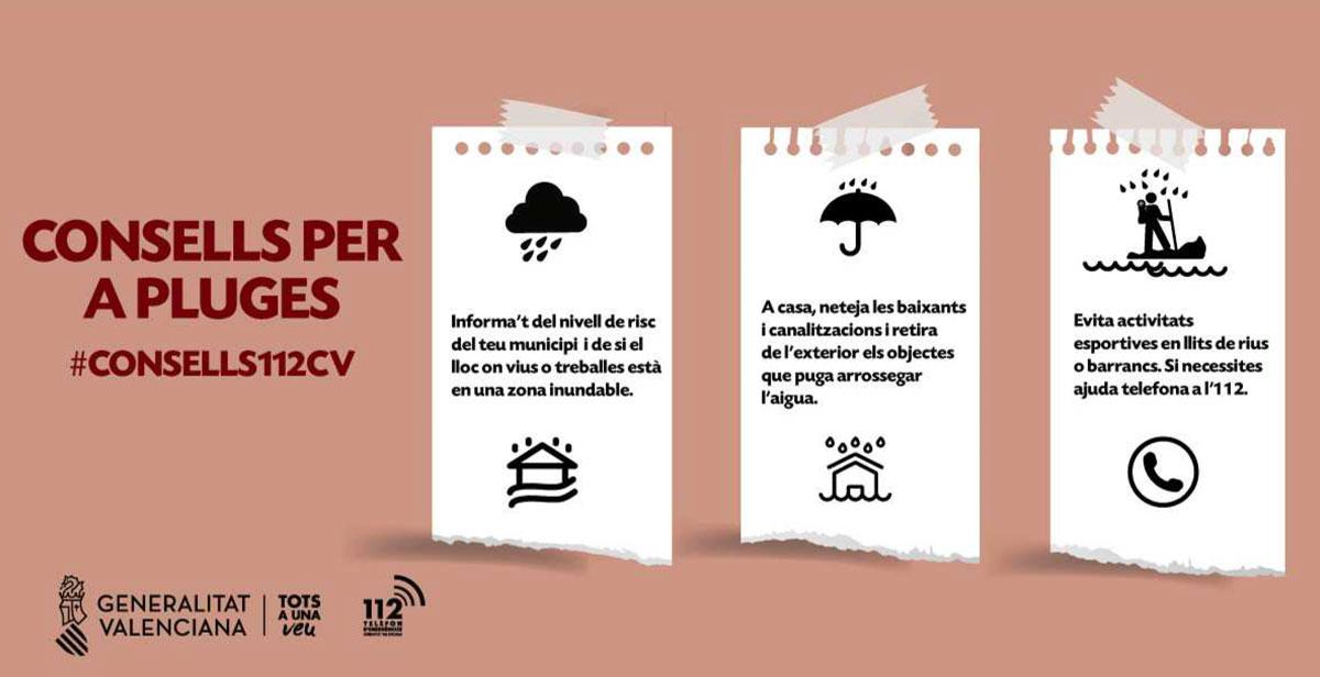 Consell per les pluges